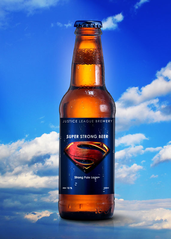 Super Hero Beers by Marcelo Rizzetto_Super Strong Beer
