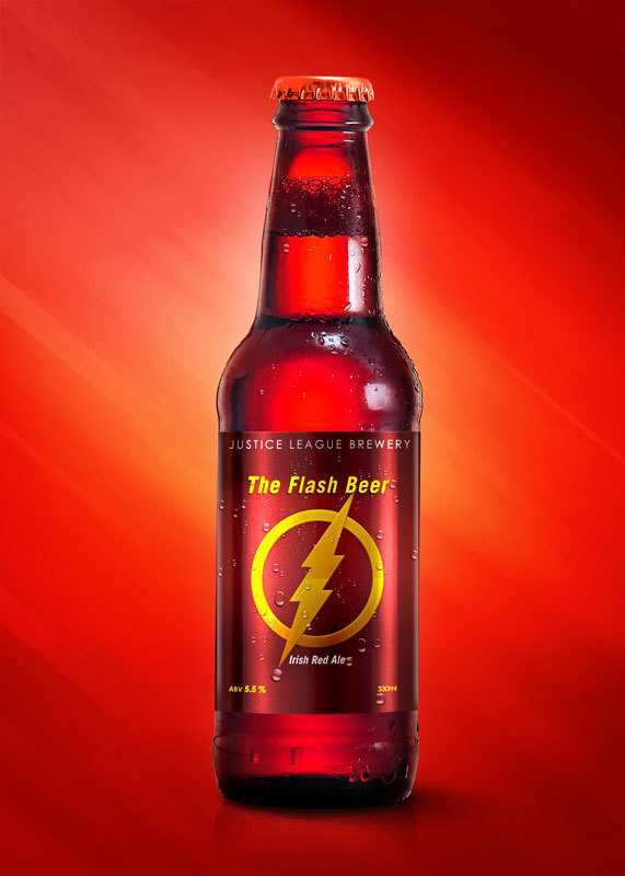 Super Hero Beers by Marcelo Rizzetto_The Flash Beer
