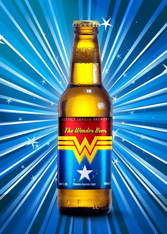 Super Hero Beers by Marcelo Rizzetto_The Wonder Beer