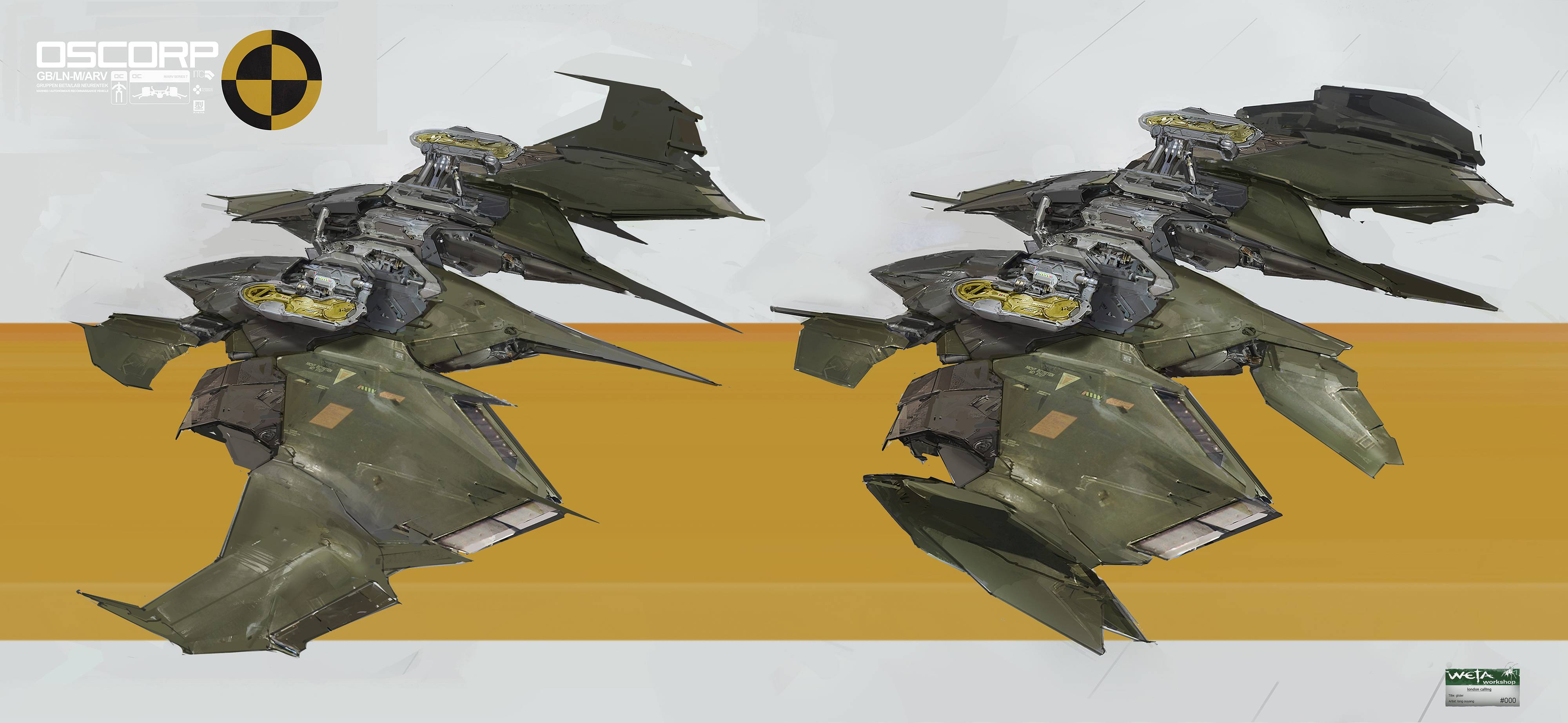 Green Goblin Concept Art For 'The Amazing Spider-Man 2'