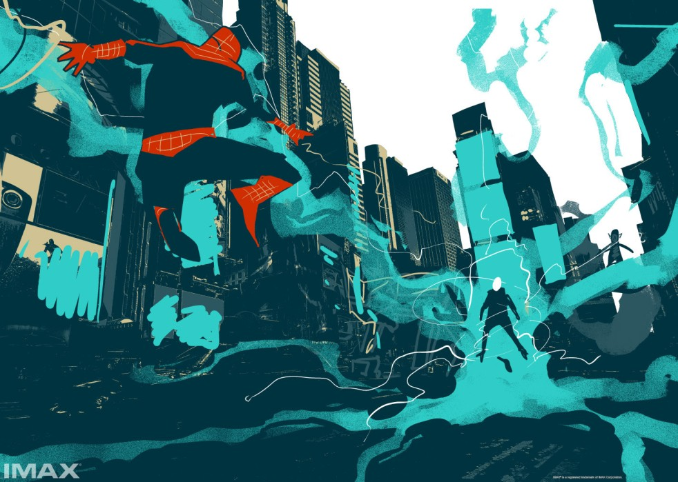 The Amazing Spider-Man 2_IMAX Poster Concept Art