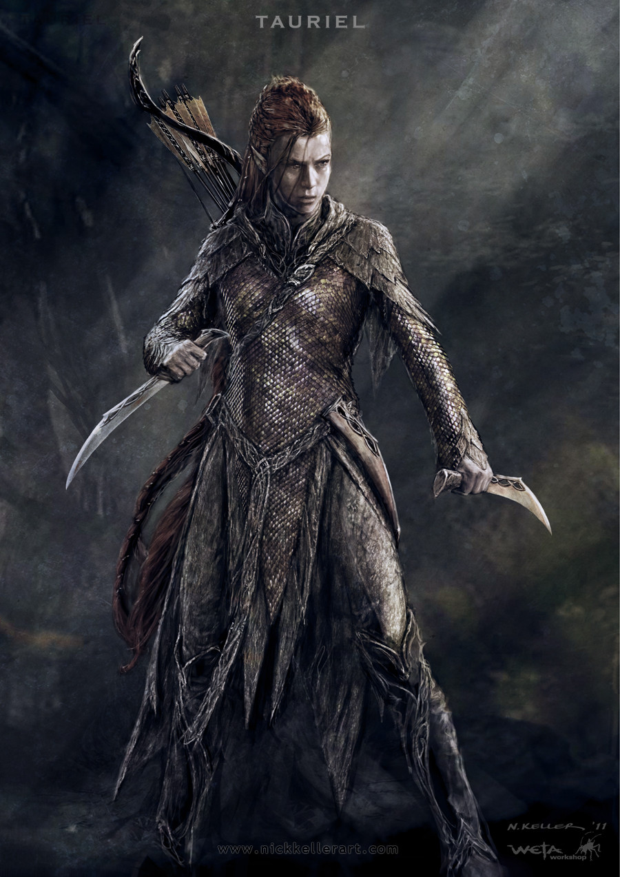 ... Art For 'The Hobbit: The Desolation of Smaug' – We Geek Girls Necromancer Hobbit Desolation Of Smaug