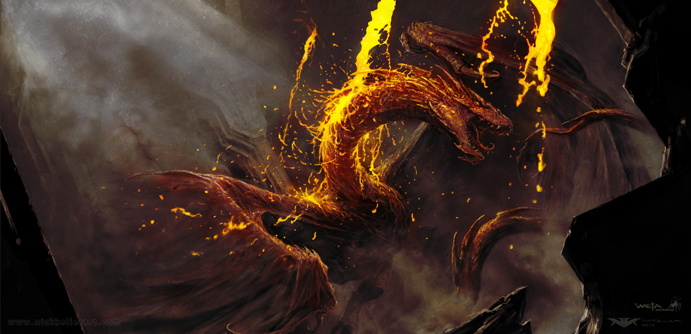 Amazing Concept Art For 'The Hobbit: The Desolation of ...