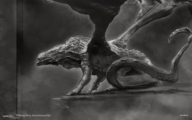 The Hobbit_The Desolation of Smaug_Concept Art by Andrew Baker (2)