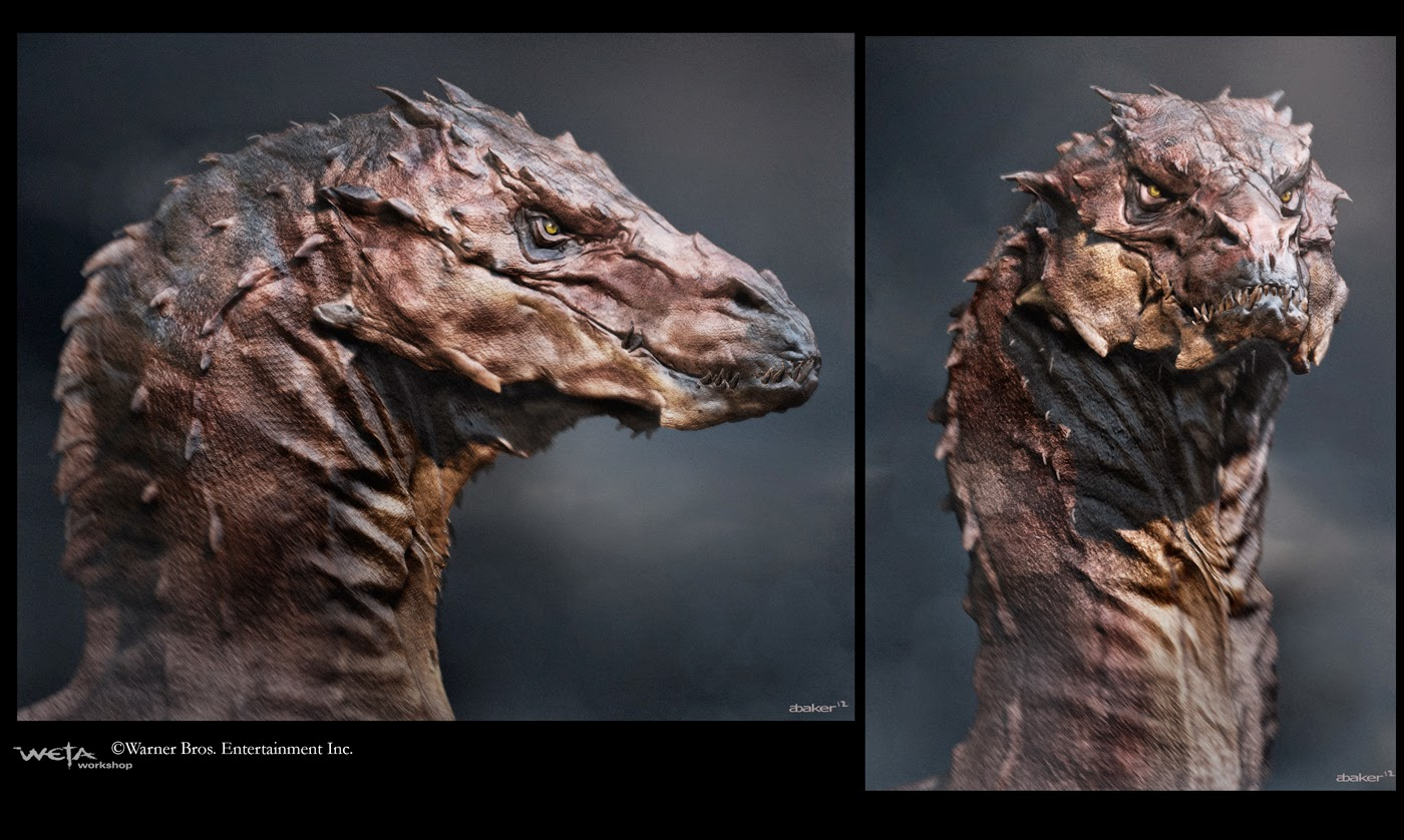 The Hobbit: The Desolation of Smaug – Rejected Concept Art ...