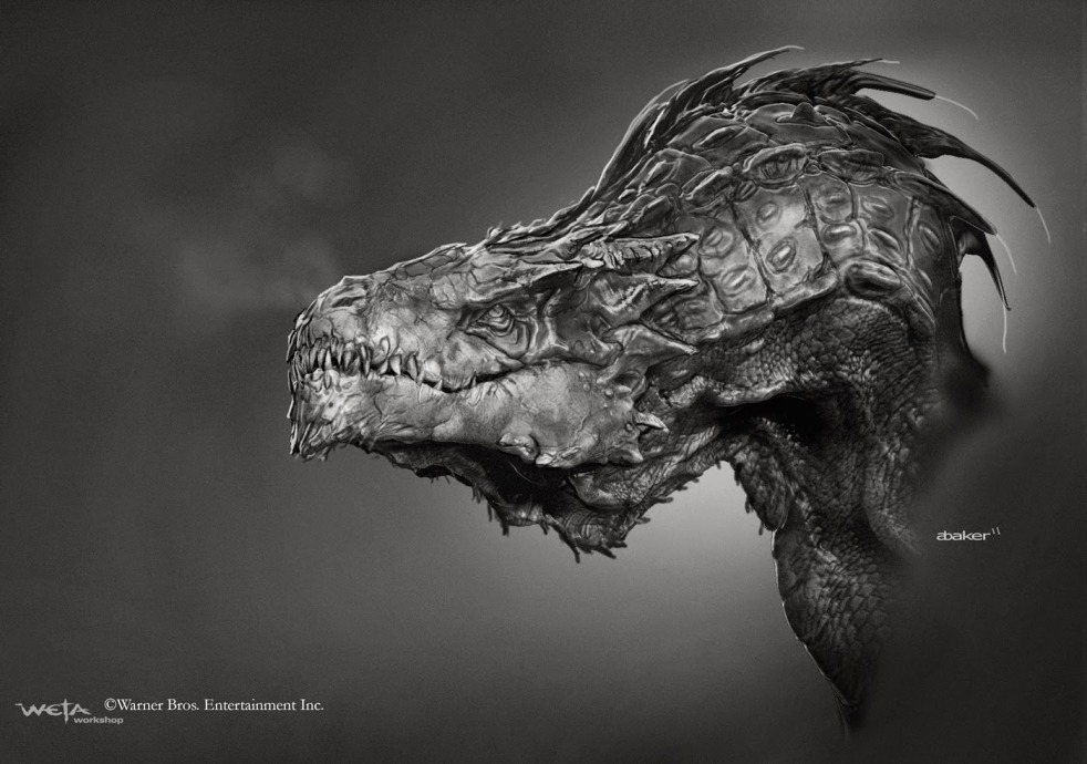 The Hobbit_The Desolation of Smaug_Concept Art by Andrew Baker