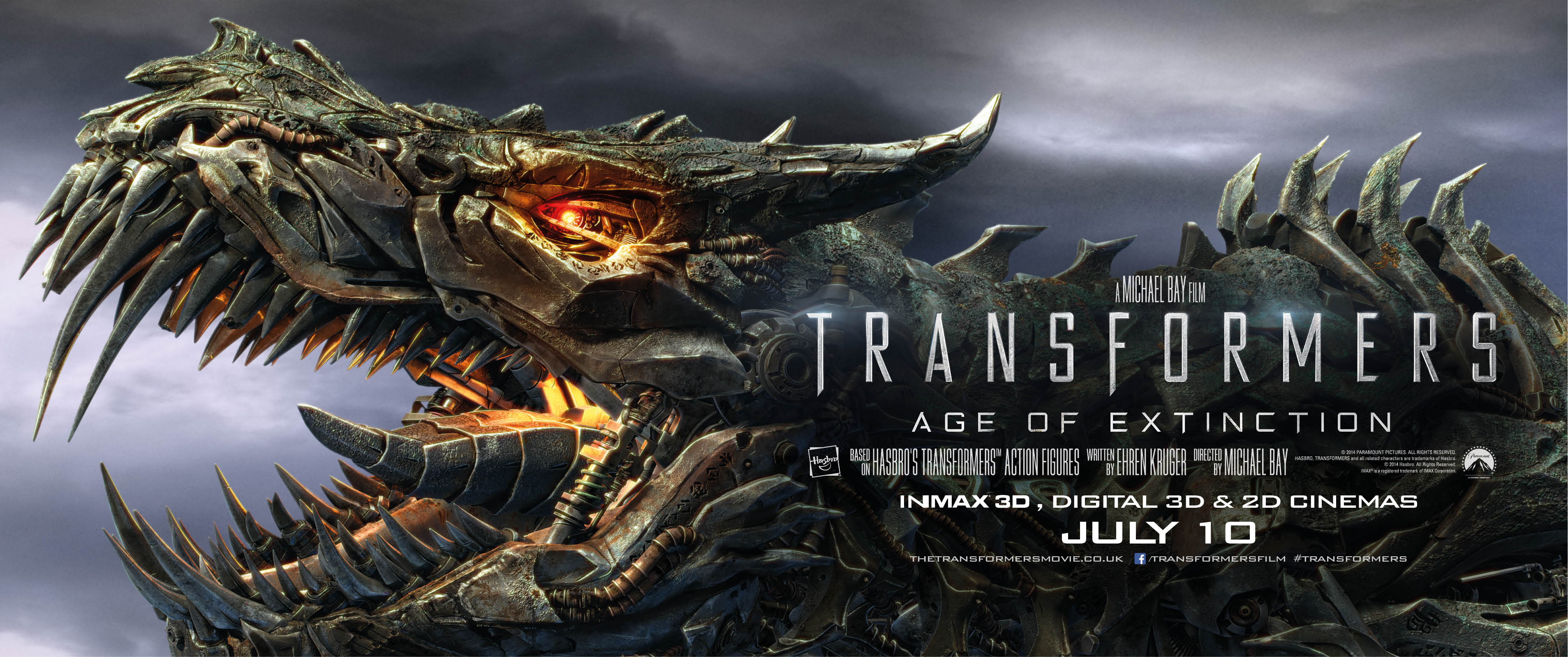 Transformers: Age of Extinction Passes $400 Million Worldwide