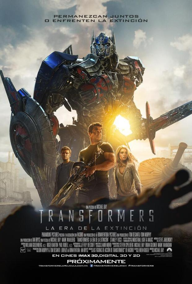 Transformers Age of Extinction_International Poster