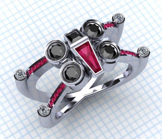 X-Wing-Ring by Paul Michael Designs