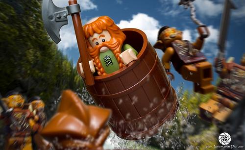 Bombur's Ballistic Bouncing Barrel by Automaton Pictures