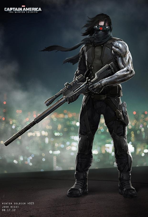 Captain America_The Winter Soldier_Winter Soldier Concept Art by Josh Nizzi (2)