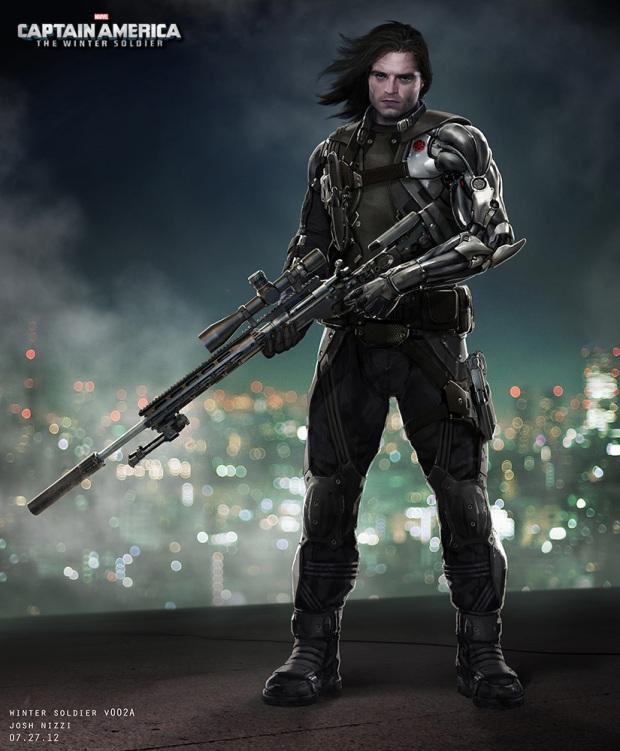 Captain America_The Winter Soldier_Winter Soldier Concept Art by Josh Nizzi