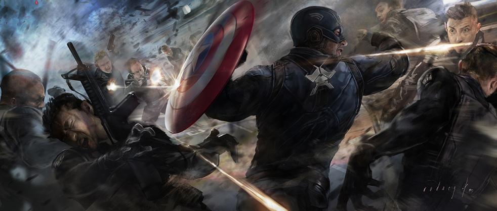 Captain America_Winter Soldier_Concept Art by Rodney Fuentebella