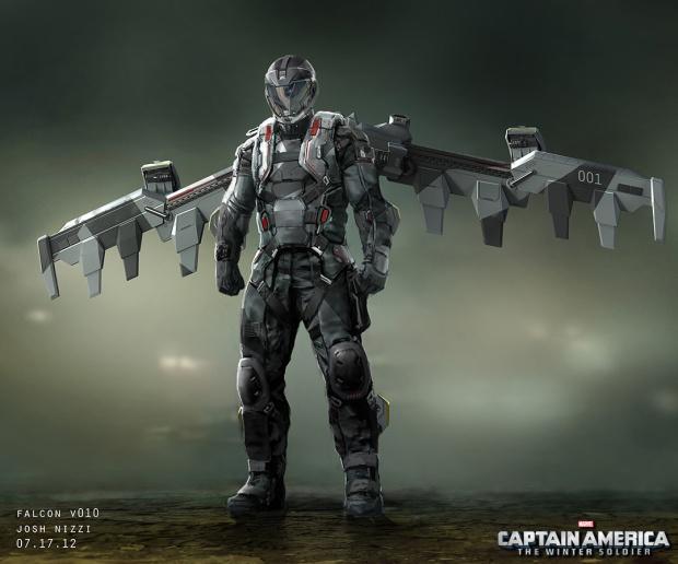 Captain America_Winter Soldier_Falcon Concept Art by Josh Nizzi (1)
