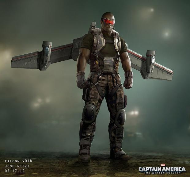 Captain America_Winter Soldier_Falcon Concept Art by Josh Nizzi (2)