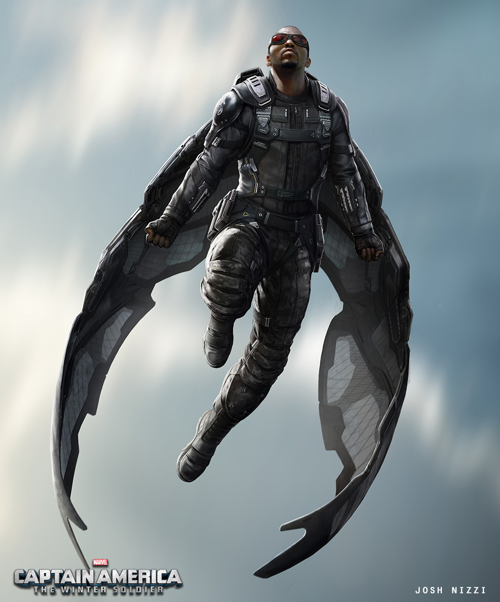 Captain America: The Winter Soldier – Awesome Falcon ...