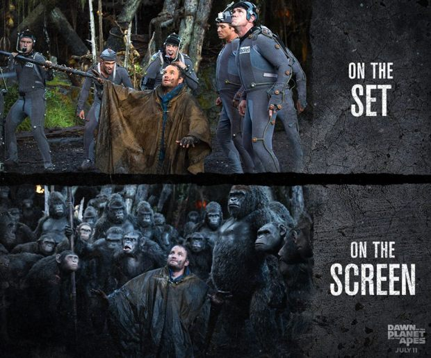 Dawn of the Planet of the Apes_On the Set_On the Screen