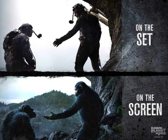 Dawn of the Planet of the Apes_On the Set_On the Screen2
