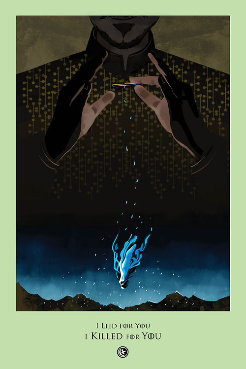 beautiful death game of thrones posters