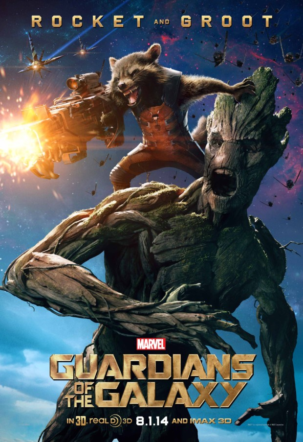 Guardians of the Galaxy_Rocket and Groot Poster