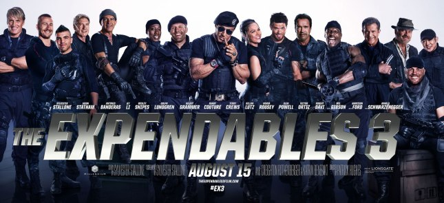 The Expendables 3_Banner