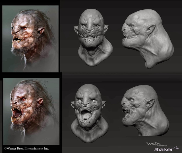 The Hobbit_The Desolation of Smaug_Concept Art by Andrew Baker (7)