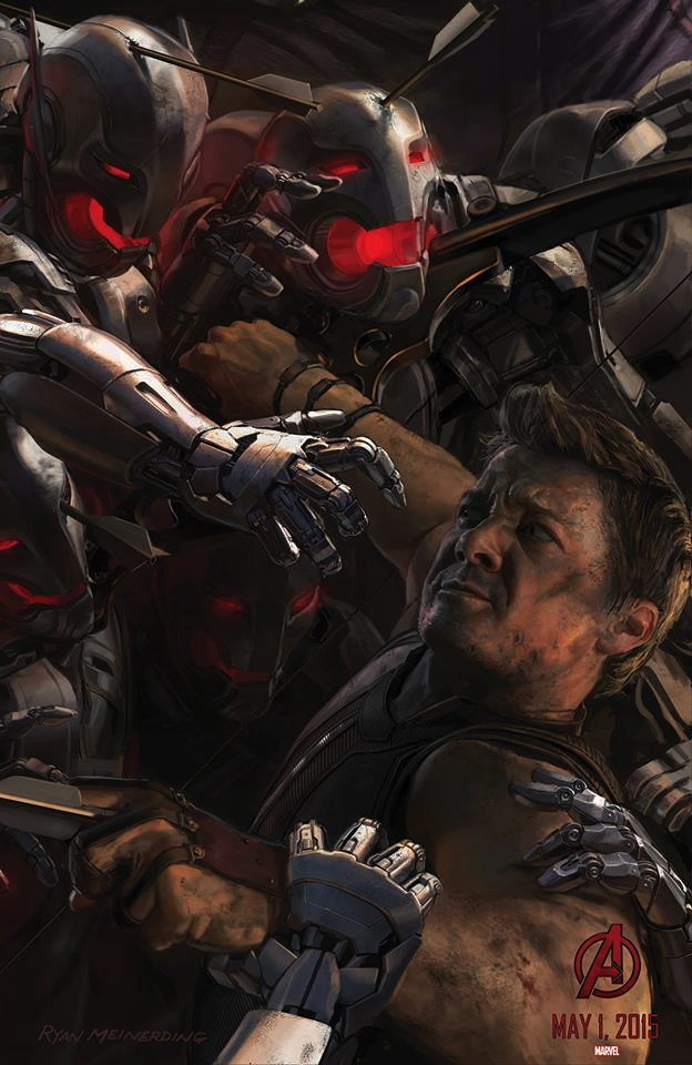 Avengers Age Of Ultron_comic-con-14-concept-poster-the-vision-hawkeye