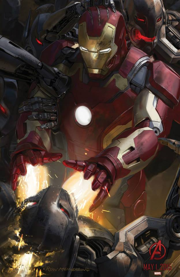 Sdcc 2014 Two New Avengers Age Of Ultron Concept Art