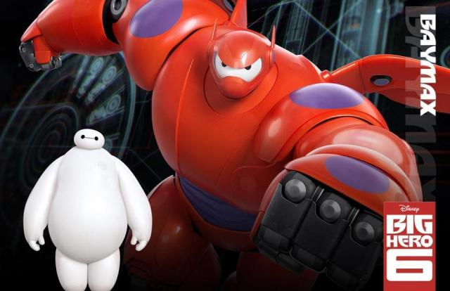 Big Hero 6_Character Posters