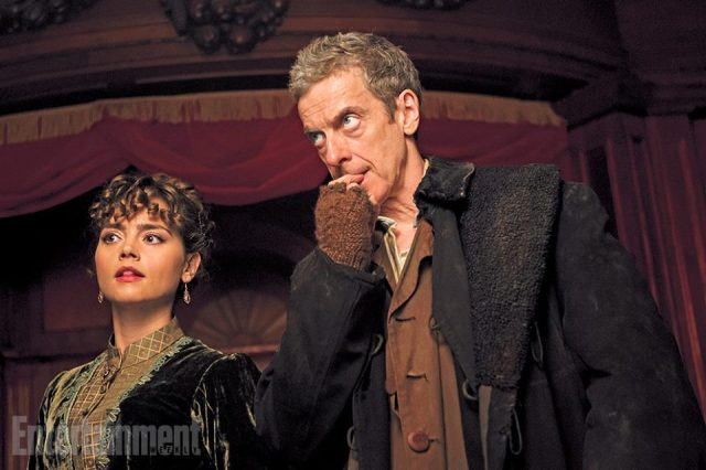 Doctor Who_First Look at Peter Capaldi and Jenna Coleman