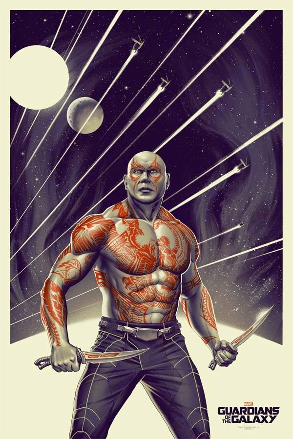 Guardians Of The Galaxy - Drax by Phantom City Creative