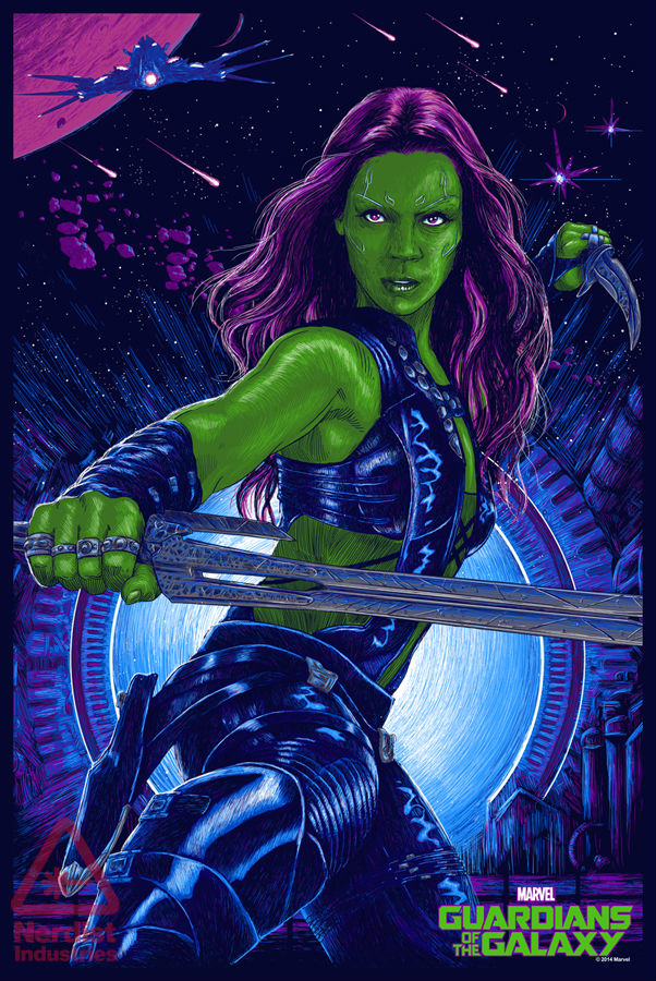 Guardians of the Galaxy_Mondo Gamora Poster