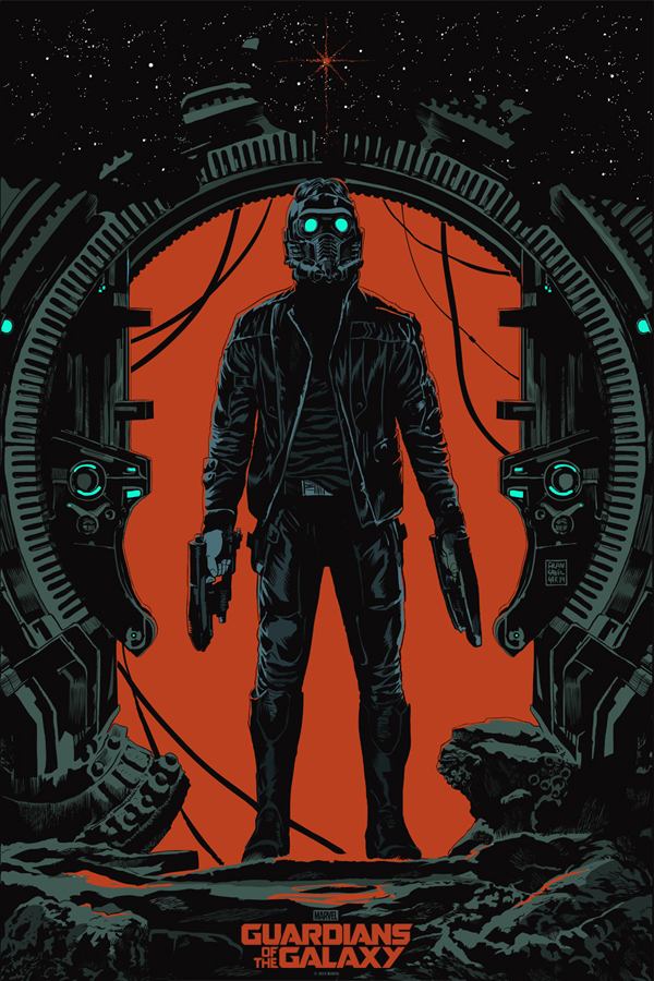 Guardians of the Galaxy_Mondo Star-Lord Poster