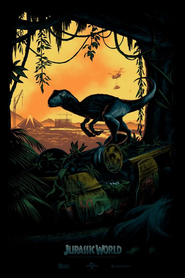 Jurassic World_SDCC Artwork