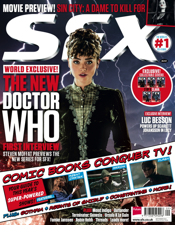 SFX Covers_DOCTOR WHO_Clara