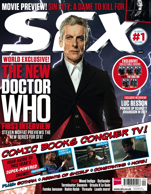 SFX Covers_DOCTOR WHO_Peter Capaldi