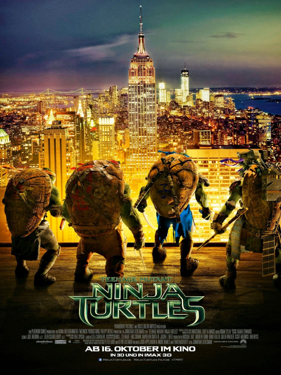 New 'Teenage Mutant Ninja Turtles' International Poster ...