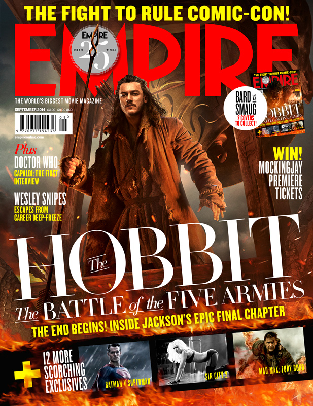 The Hobbit_The Battle of the Five Armies_Empire Magazine Cover_Bard