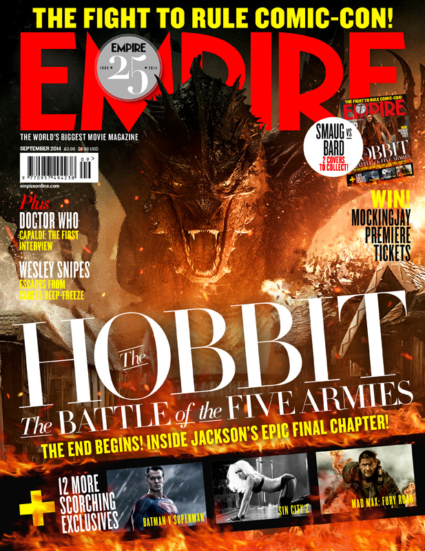 The Hobbit_The Battle of the Five Armies_Empire Magazine Cover_Smaug