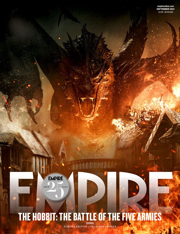 The Hobbit_The Battle of the Five Armies_Empire Magazine Cover_Smaug2