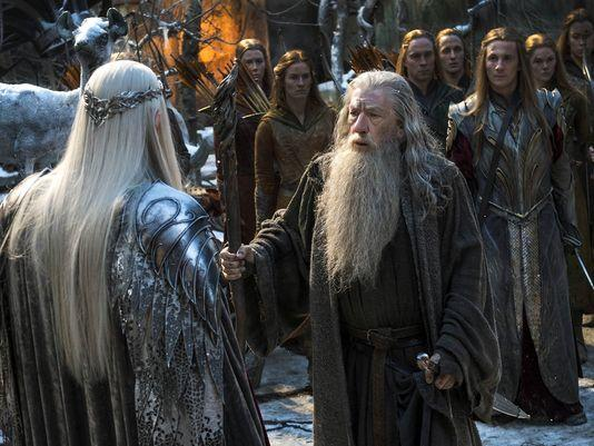 The Hobbit_The Battle of the Five Armies_Still_Gandalf and Thranduil