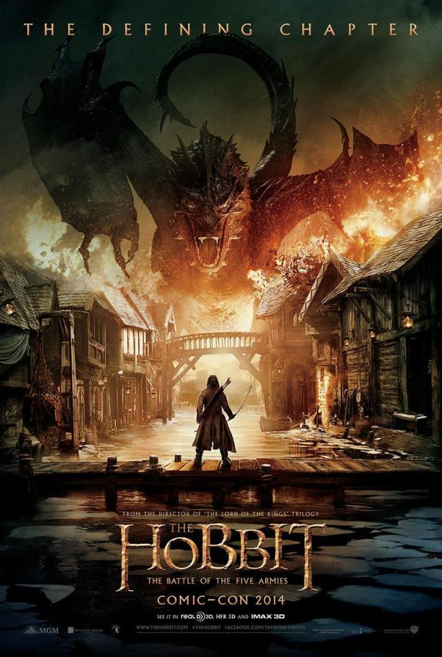 The Hobbit_The Battle of the Five_SDCC 2014 Poster