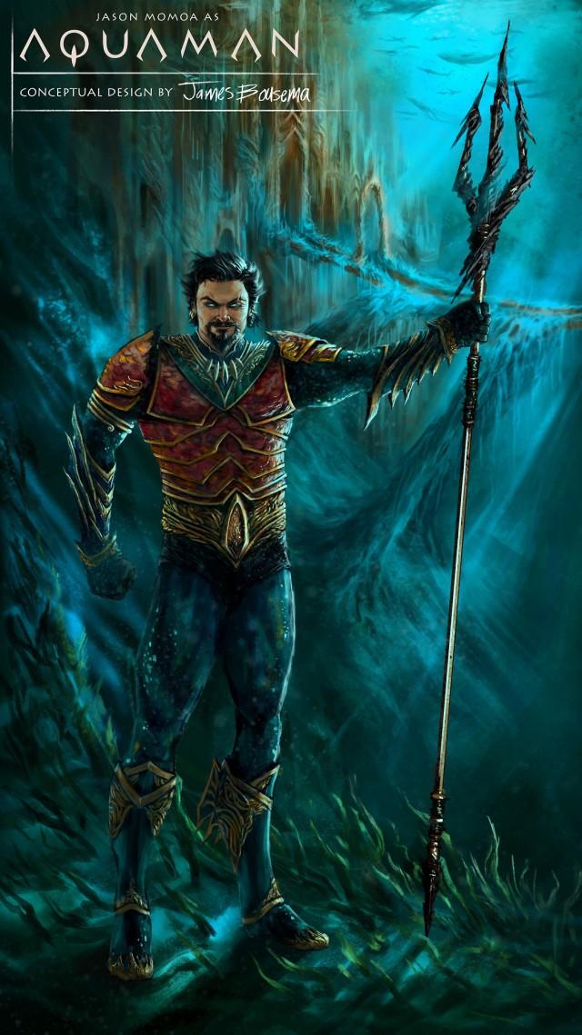 Aquaman Concept Art_by James Bousema