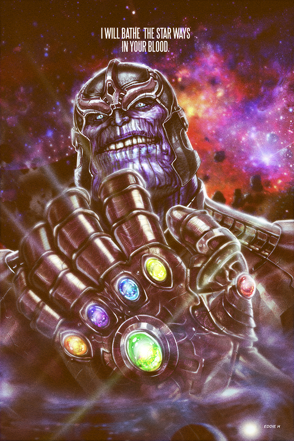 Avengers_Age of Ultron_Thanos_by Eddie Holly