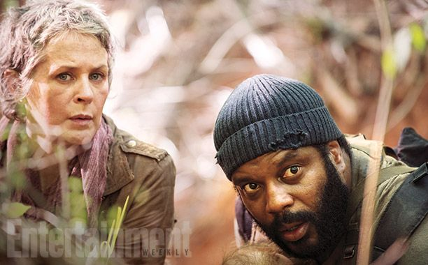 Carol (Melissa McBride) and Tyreese (Chad L. Coleman) Image Credit Gene Page_AMC