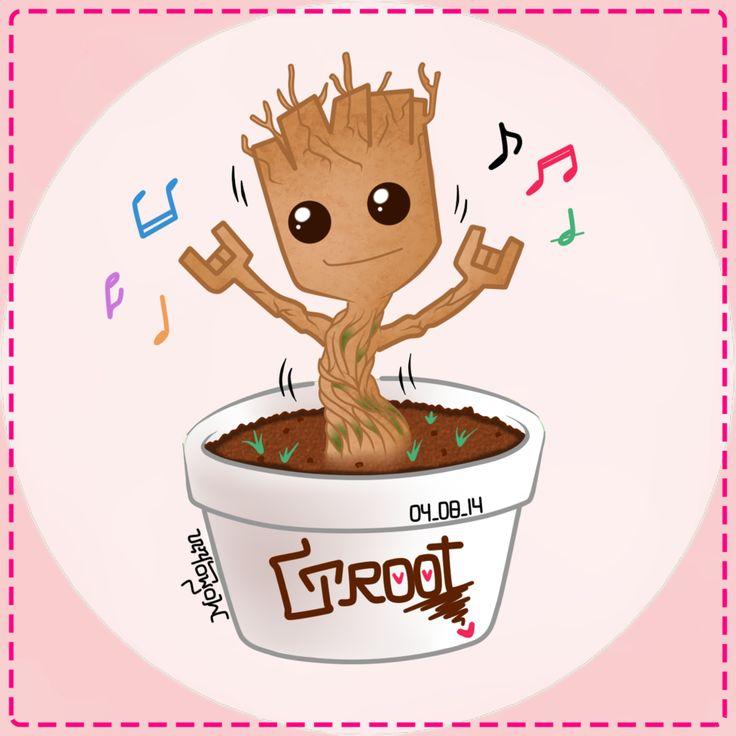 I Am Groot Geek Art: 6 Adorable D...