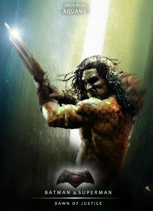 Jason Momoa Aquaman by EikraemFerwouche
