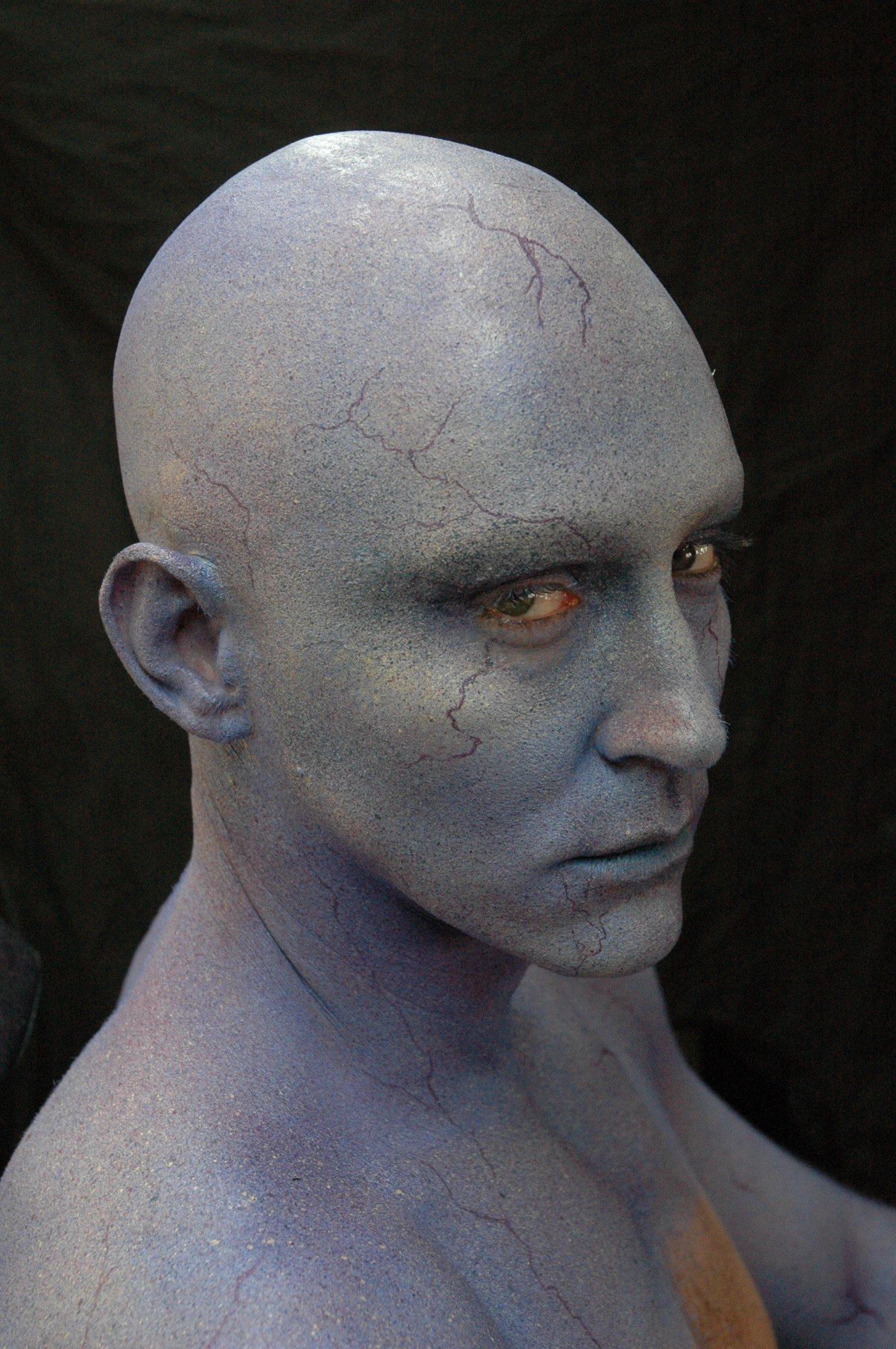 Guardians of the Galaxy – BTS Look At Lee Pace's Makeup Transformation Into 'Ronan the Accuser ...