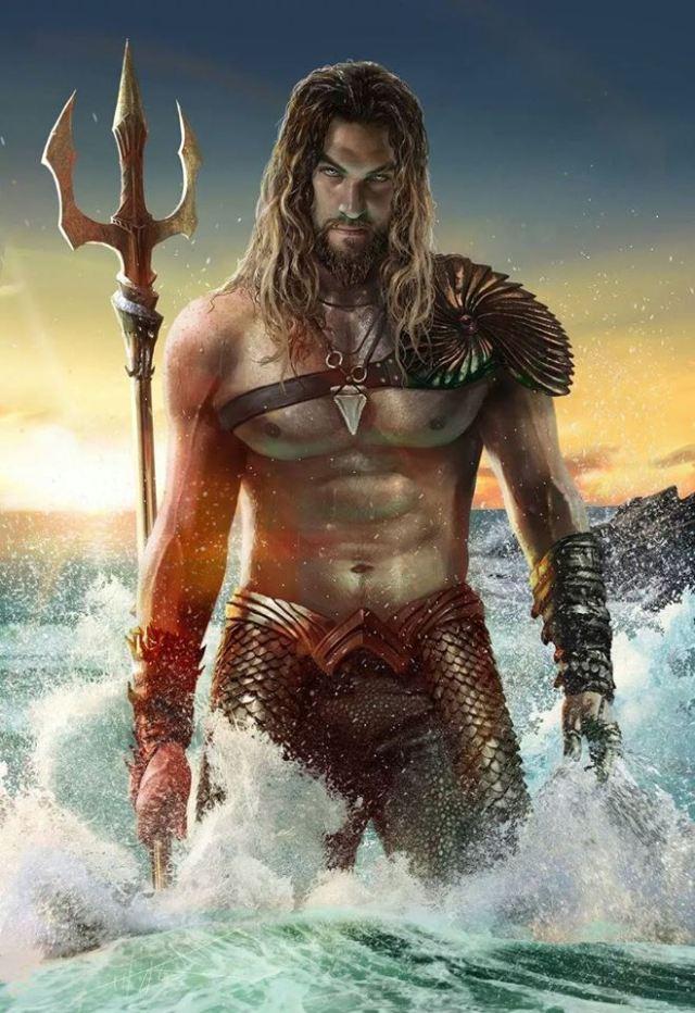 Mamoa Aquaman by Rahzzah