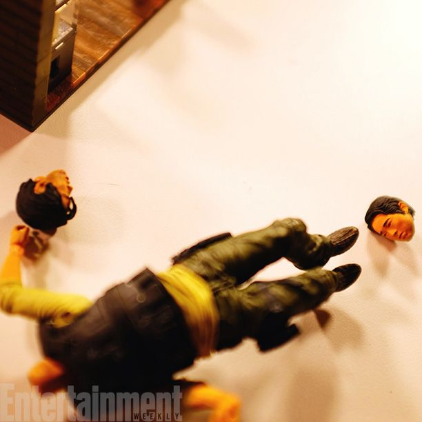 Here's hoping Steven Yeun fares better in season 5 than this Glenn doll - Image Credit: Courtesy of Norman Reedus